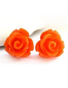 Ear Studs Rose Flower (Sold...