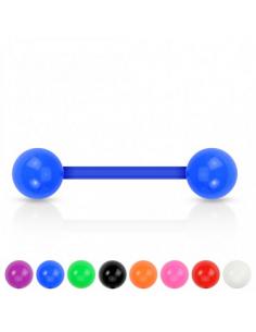 Acrylic Barbell with UV Balls