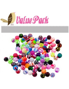 10 Pcs Value Pack of...