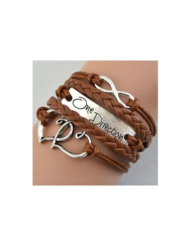 """Bracelet with Infinity, Hearts, """"One..."""