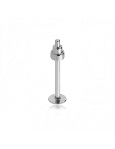 Labret with Steel Mini Dumbbell