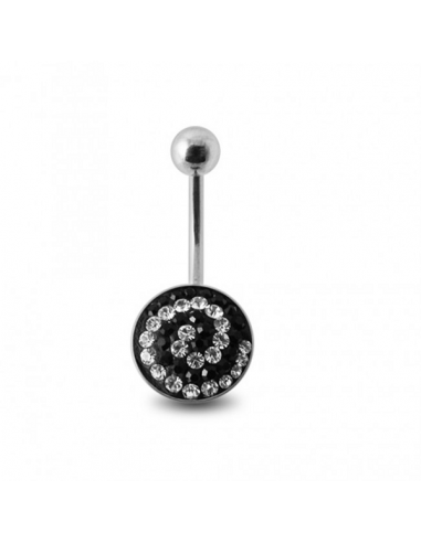 Belly Button Navel Ring Ferido Stones...