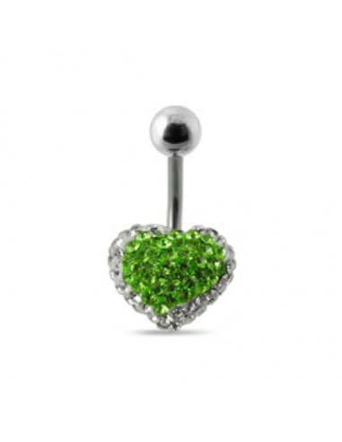 Belly Button Navel Ring Ferido Stone...