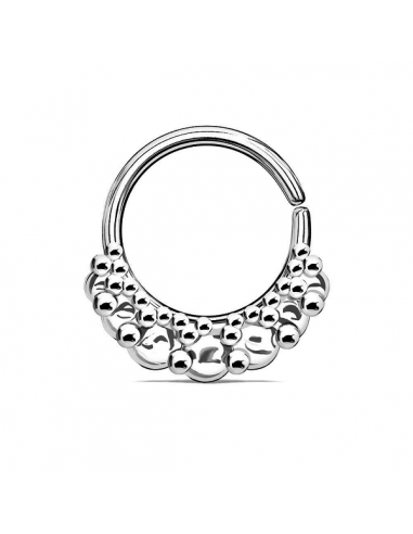 Piercing Ring Vintage Fan Circles