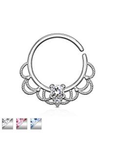 Piercing Ring CZ Set...