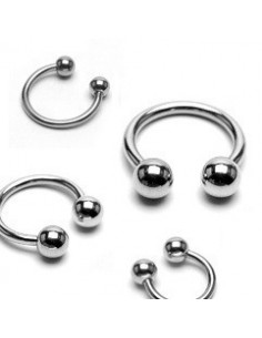Circular Barbell with Steel Balls