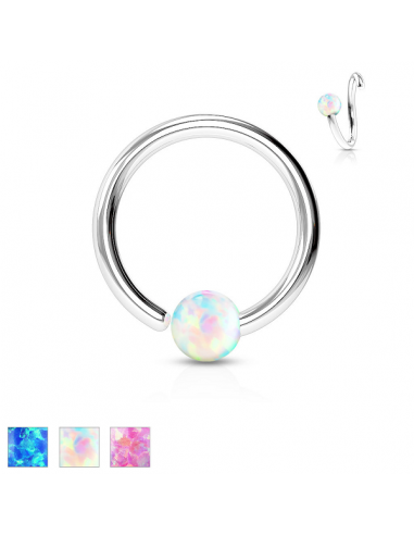Captive Bead Ring Ball Closure Ring...