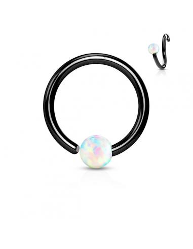Captive Bead Ring Ball Closure Ring...