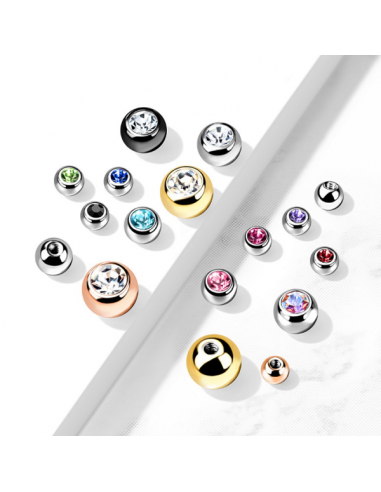 Replacement Ball 1.2mm Gemstone