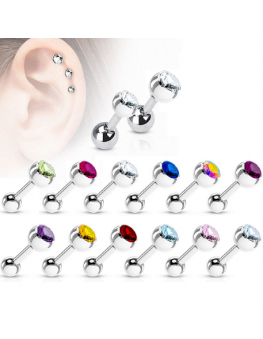 Earring Cartilage Helix Tragus with...