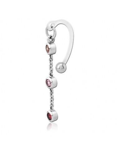 Intimate piercing bioflex chain with...